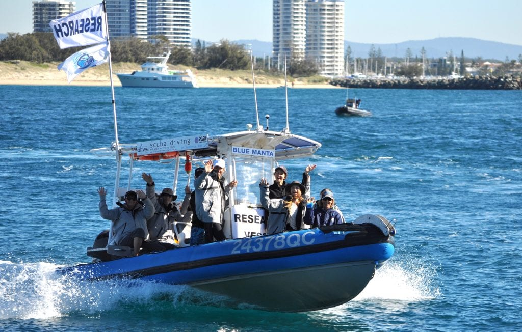 Gold Coast Jet Boat Ride Broadwater Boating Tour